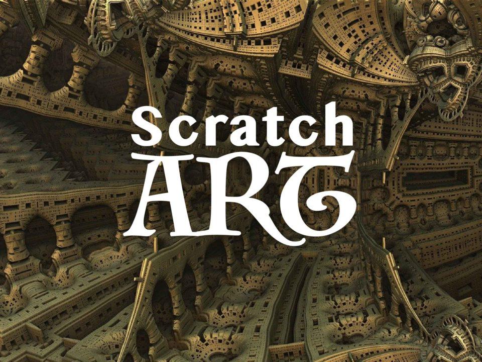 スクラッチアートの作品例2選の紹介
