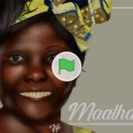 Scratch作品例「Wangari Maathai Art | International Women's Day」