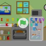 Scratch作品例「Interactive Kitchen」